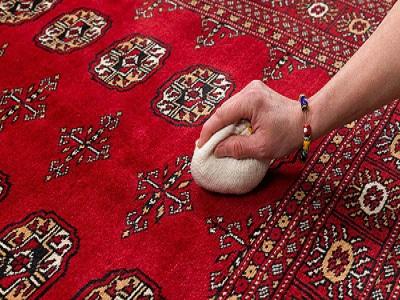 روش های لکه گیری فرش
