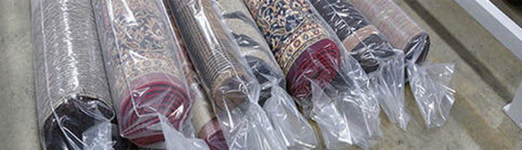 بسته بندی فرش